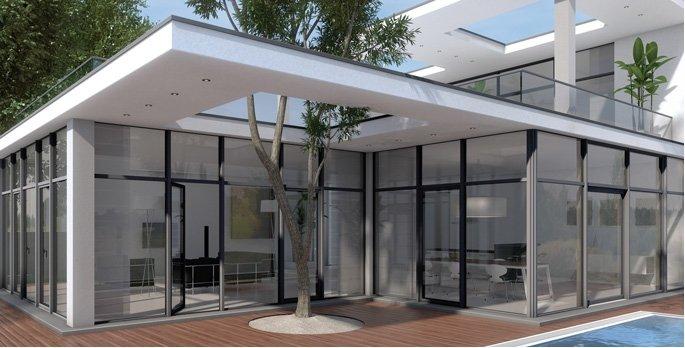 Finestre finstral pvc centroideacasa negozio d 39 infissi - Sostituzione vetri finestre ...