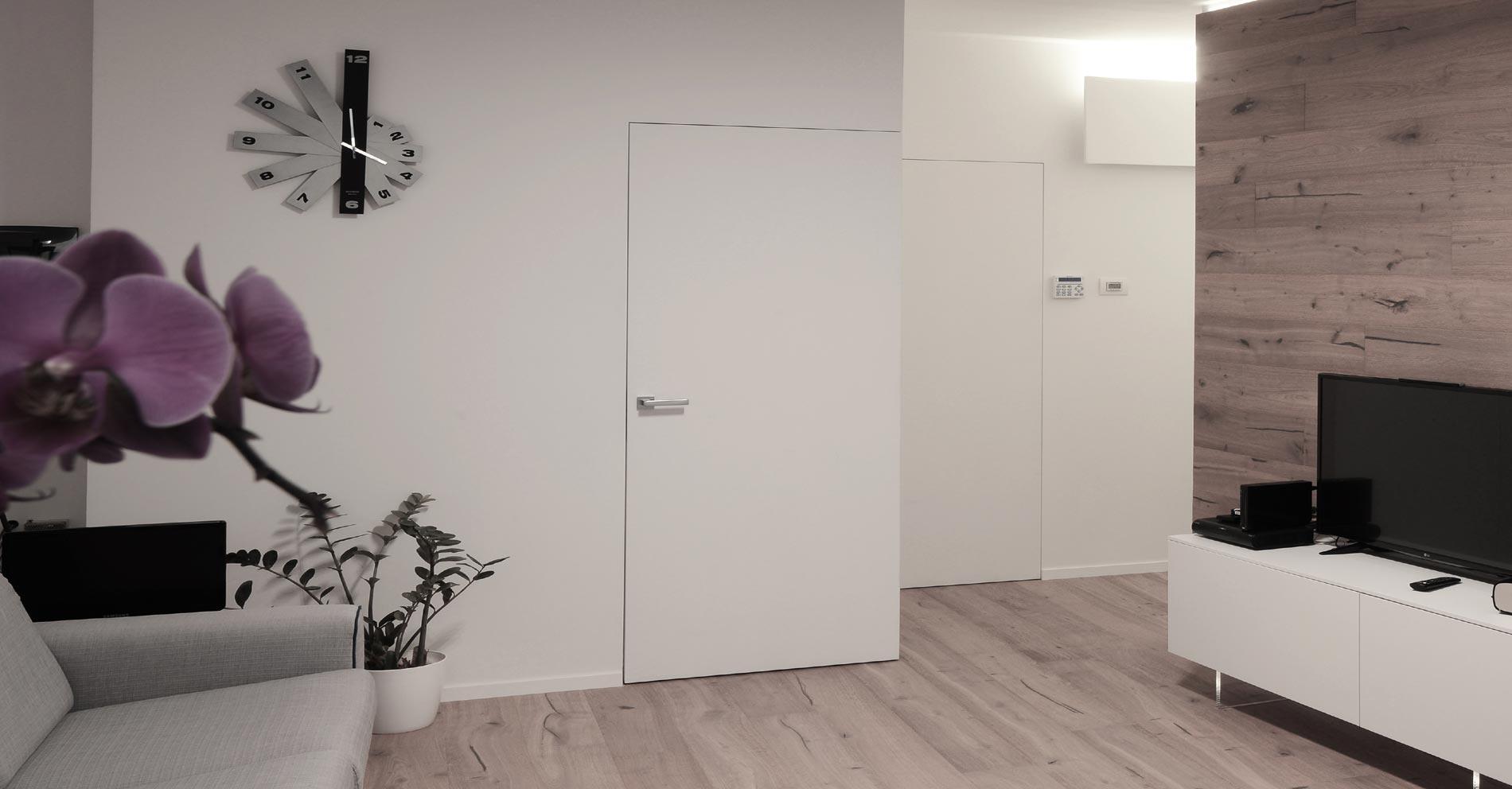 Centro idea casa porte interne a scomparsa rasoparete - Porte invisibili scorrevoli ...