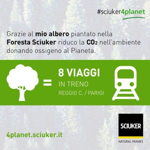 Albero VS treno